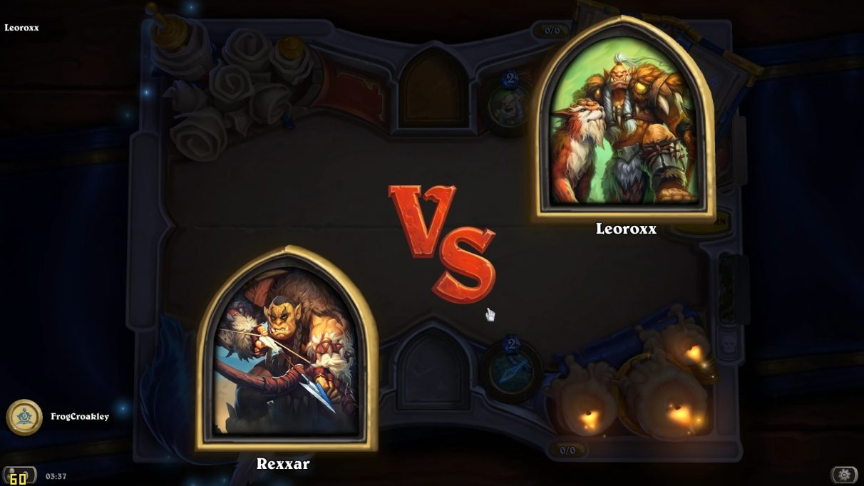 Rexxar versus... his dad.