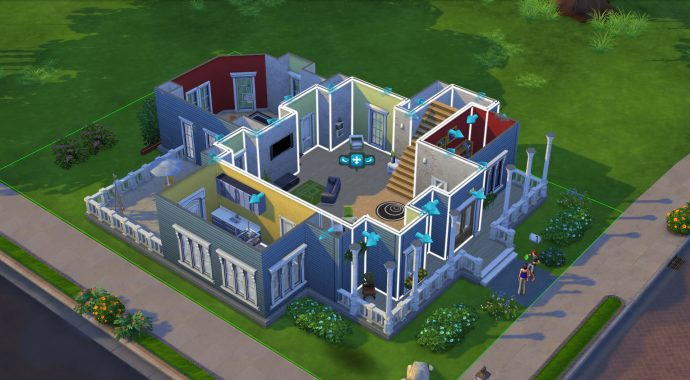 Creating a new building in The Sims 4