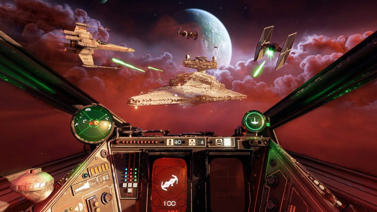 Star Wars: Squadrons screenshot.