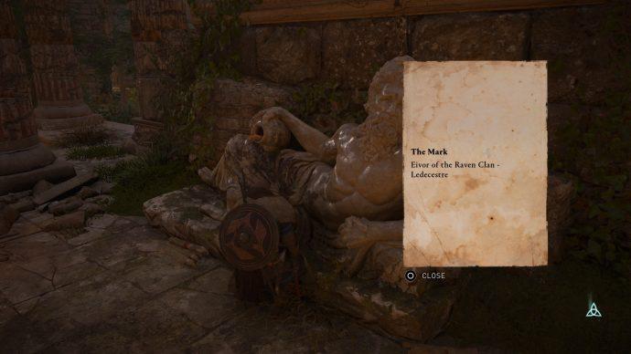 Assassin's Creed Valhalla statue in Venonis