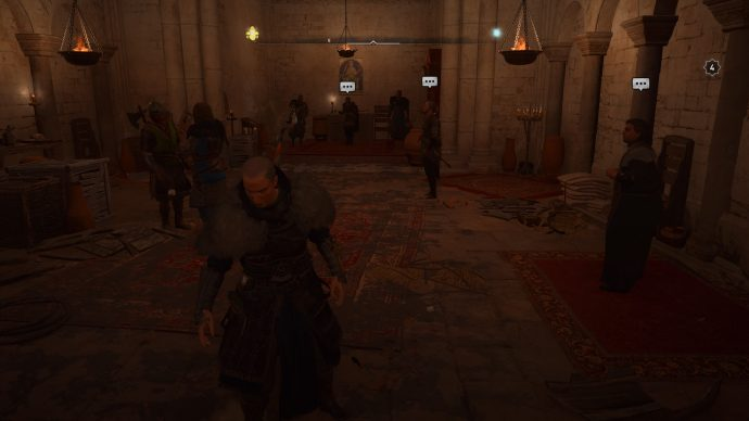 Choosing who to give the silver to in the Sciropscire mission in Assassin's Creed Valahlla