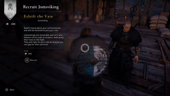 A Jomsviking in Assassin's Creed Valhalla