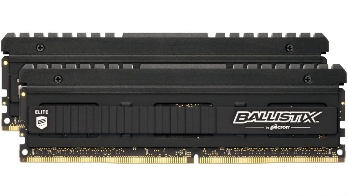 A photo of Crucial's Ballistix Elite RAM