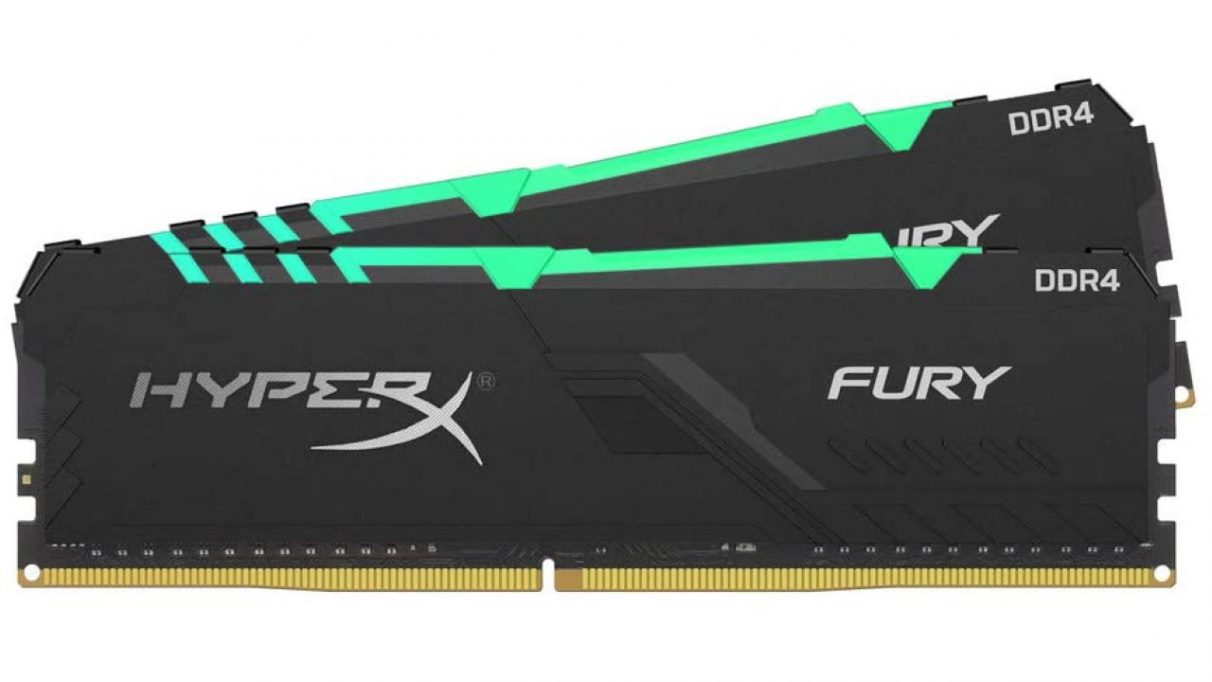 A photo of HyperX's Fury RGB RAM