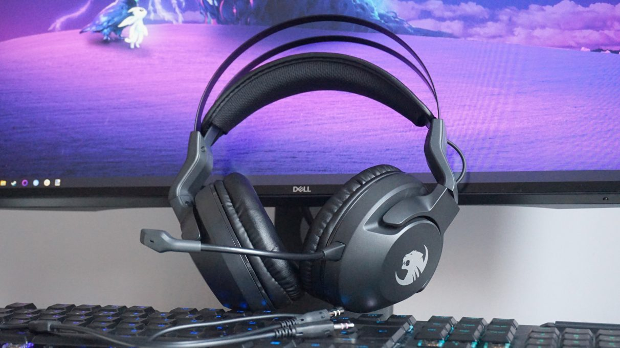 A photo of Roccat's Elo X Stereo gaming headset.