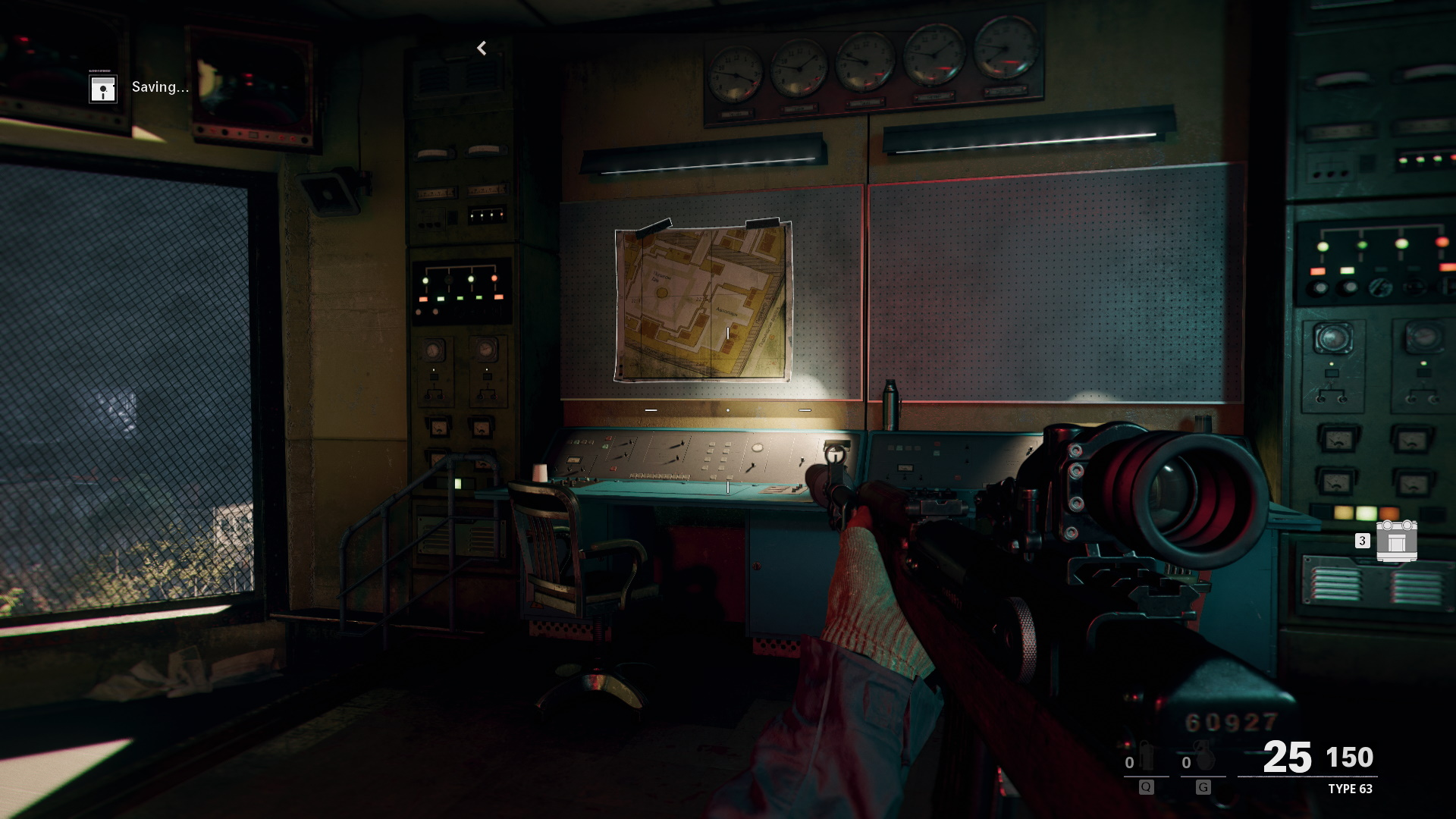 Evidence location in redlight greenlight mission for Operation Chaos.