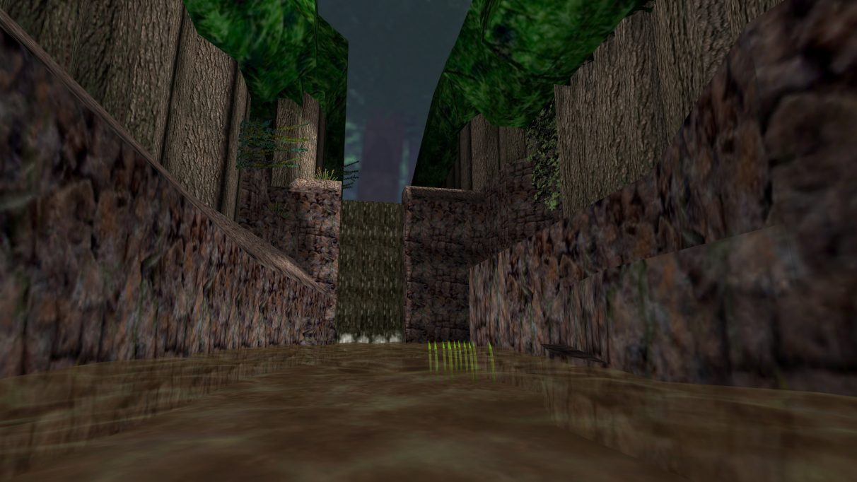 Screenshot of the Counter-Strike map as_forest.