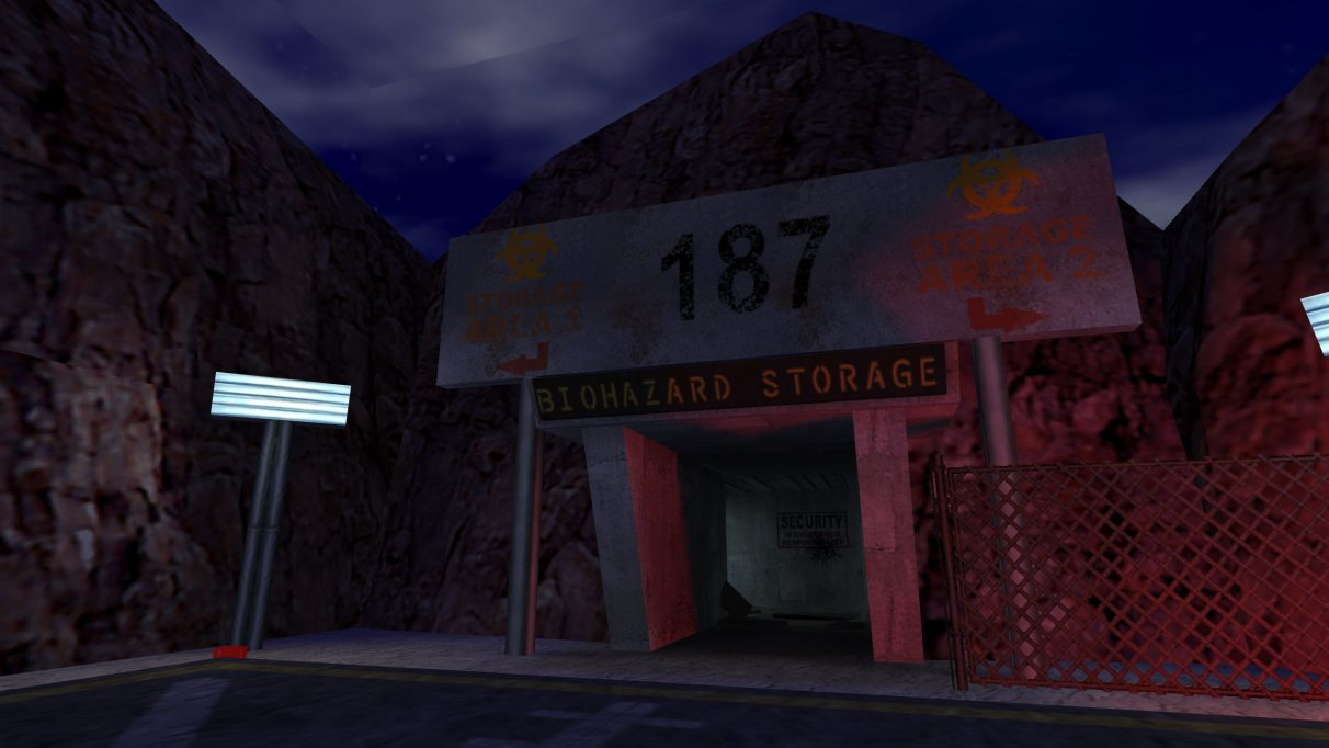 Screenshot of the Counter-Strike map cs_bunker.
