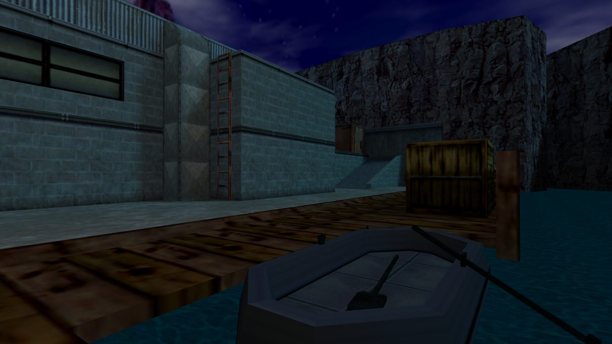 Screenshot of the Counter-Strike map cs_docks.
