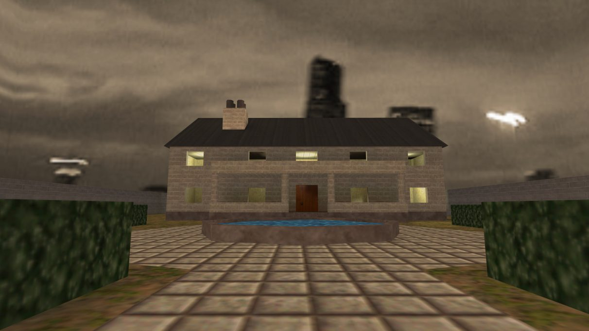 Screenshot of the Counter-Strike map cs_mansion.