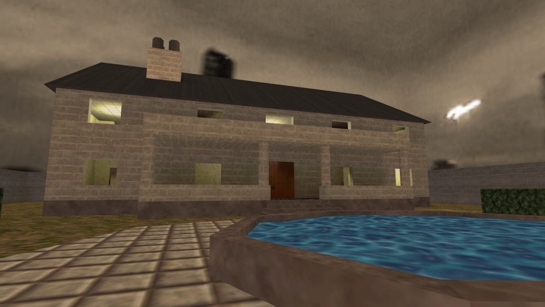 Screenshot of the Counter-Strike map cs_mansion.