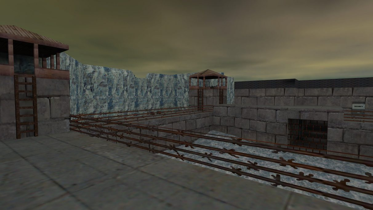 Screenshot of the Counter-Strike map cs_prison.