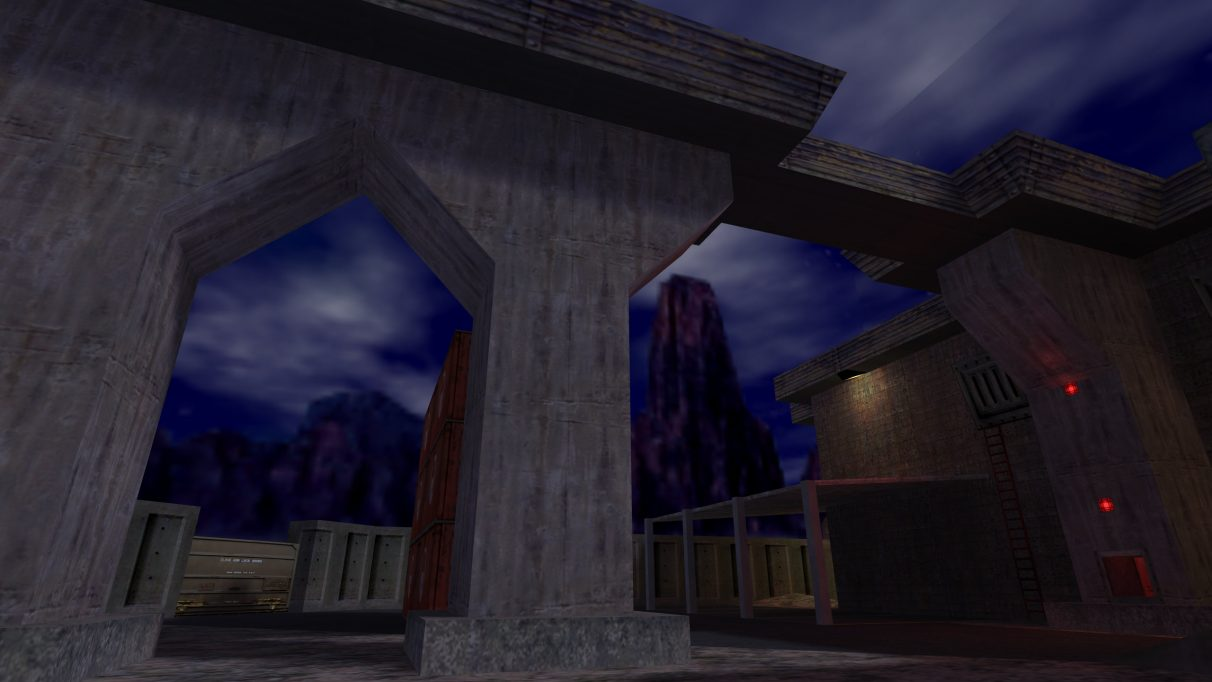Screenshot of the Counter-Strike map cs_wpndepot.