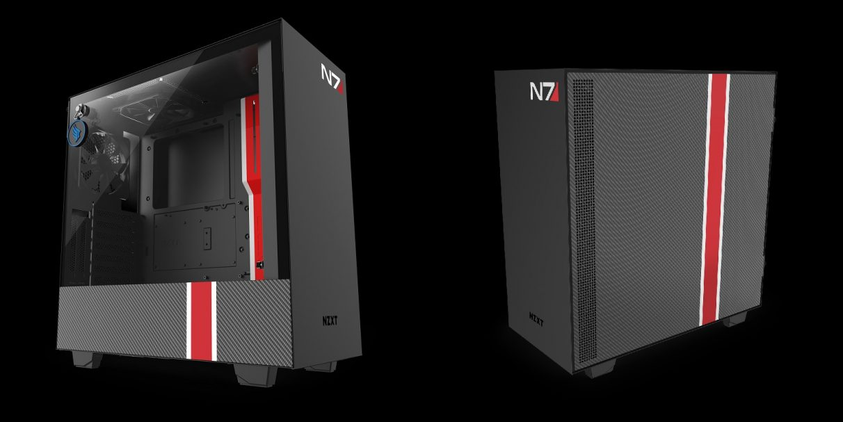 Casing Mass Effect NZXT PC.