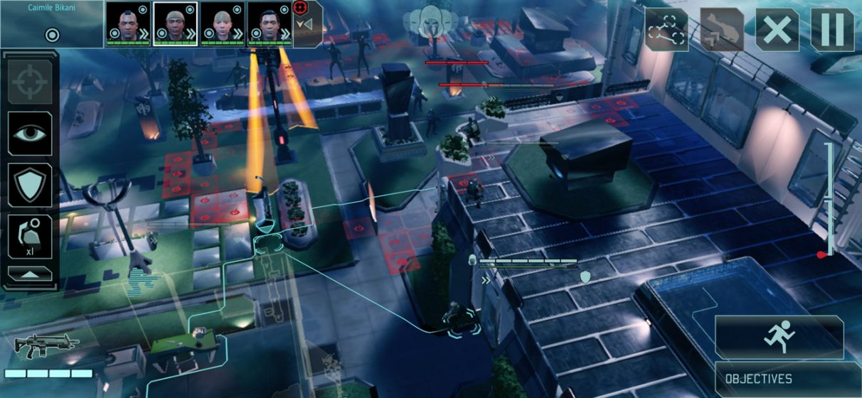 A screenshot of the XCOM 2 Collection on iPhone, showing its new UI.