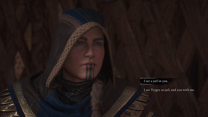 Eivor choosing the new Jarl of Snotinghamscire in Assassin's Creed Valhalla