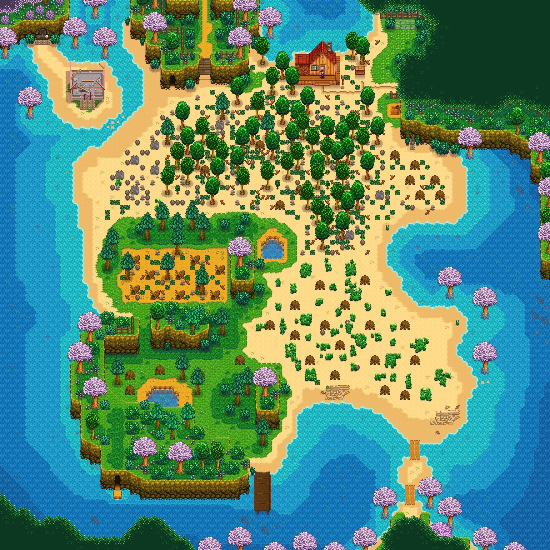 Stardew Valley S New Beach Farm Is Worth Starting Over For Rock Paper Shotgun