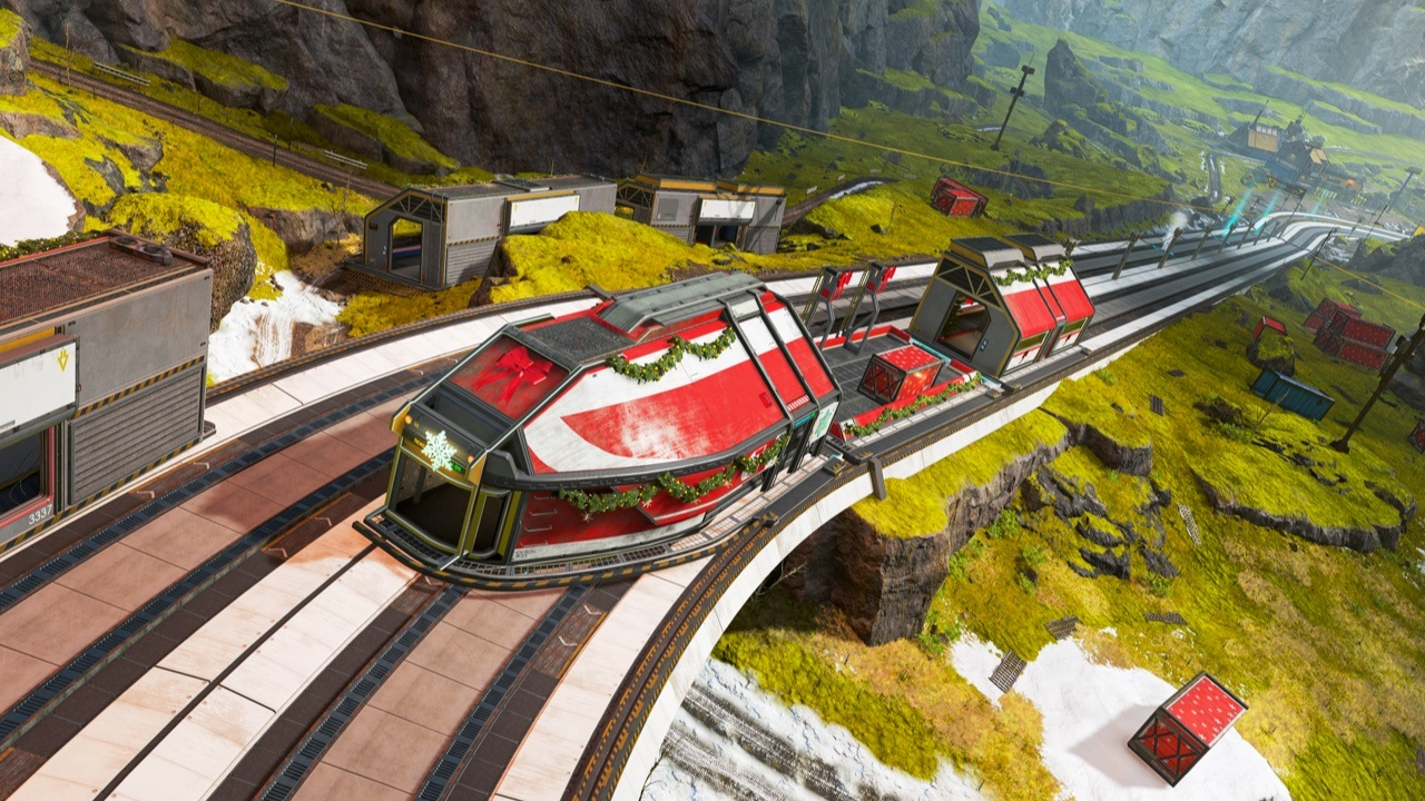 The train from Apex Legends.