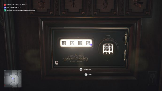 The safe code to Alexa Carlisle's safe in the Dartmoor mission of Hitman 3