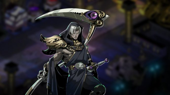 Thanatos, one of the three romance options in Hades.