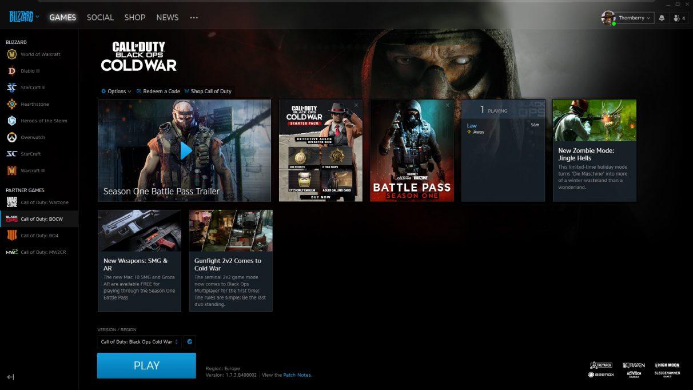 Peluncur Battle.net lama