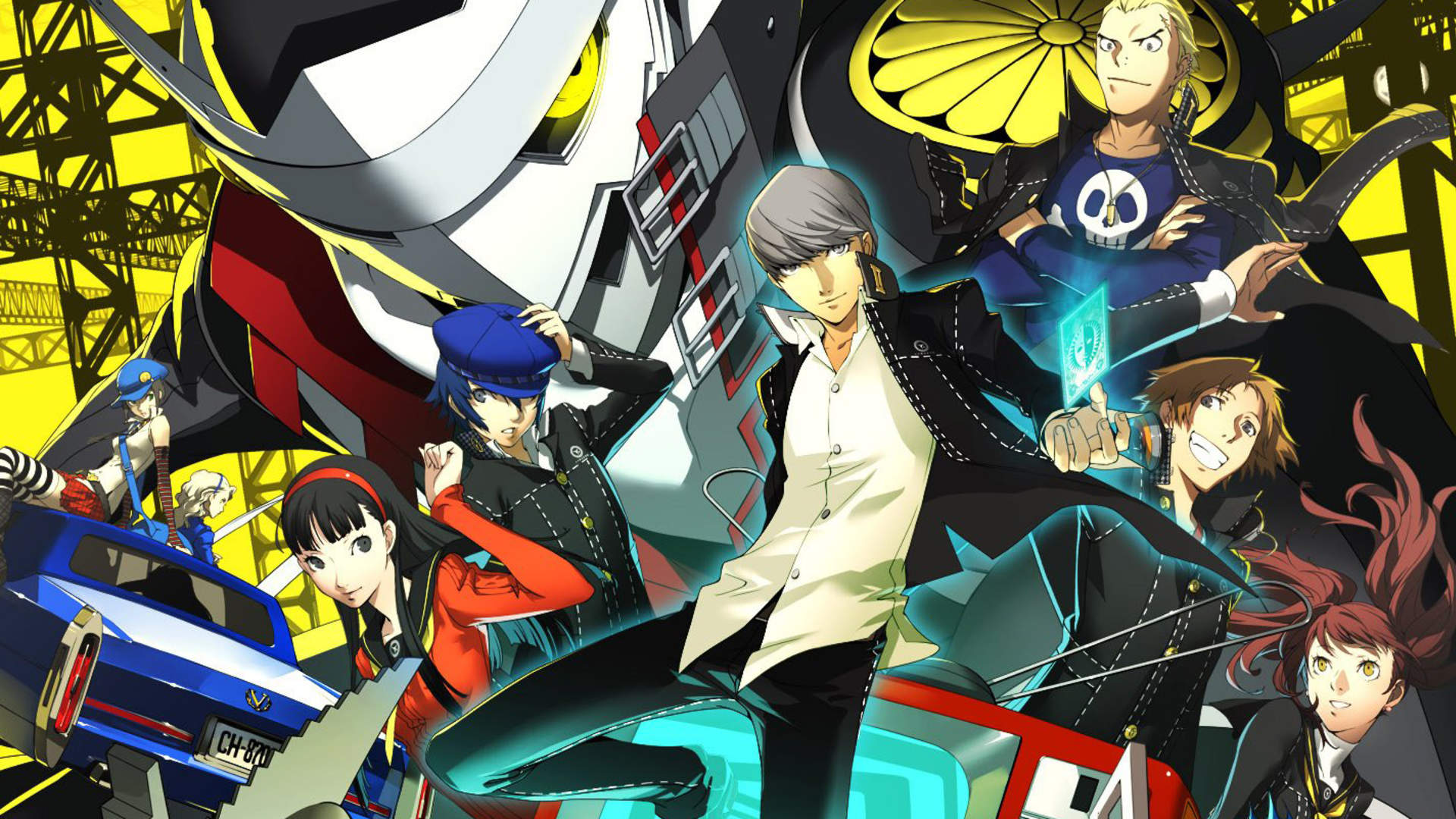 Official artwork for Persona 4.