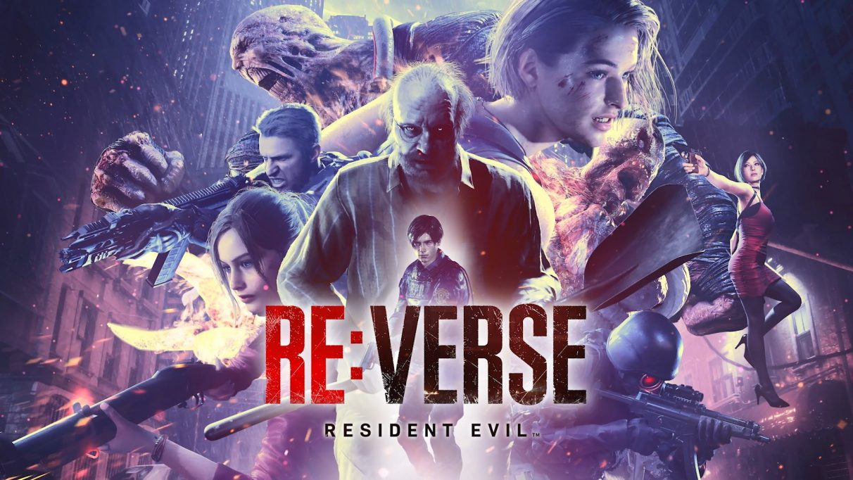 Key art for RE: Verse, a new multiplayer Resident Evil game featuring characters from across the series.