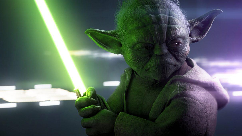 Yoda di Star Wars Battlefront 2.