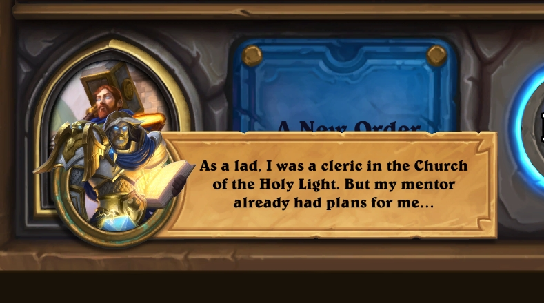 Uther reminisces on his time as a lad, in the new Book Of Heroes entry.