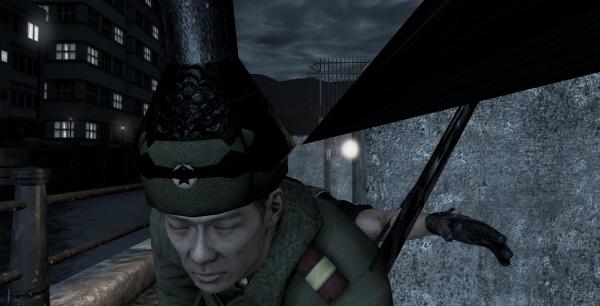 Die, lamppost head!