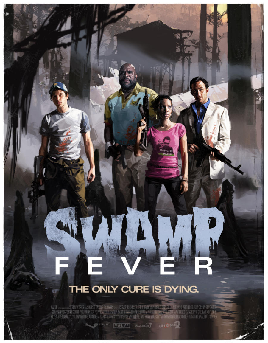 Fevered: Left 4 Dead 2 Heads To The Swamp | Rock Paper Shotgun