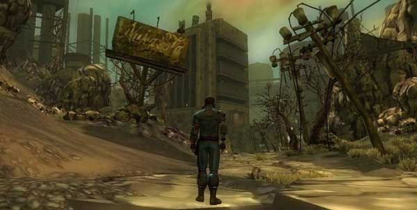 This is fallout online, allegedly, said a man once