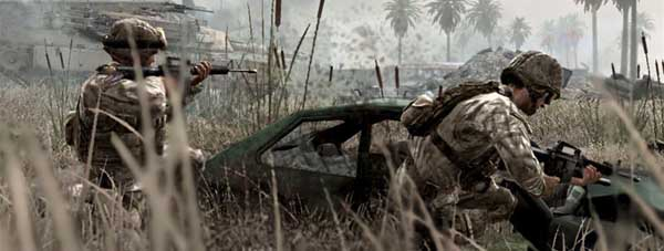 That is not Modern Warfare 3. That is Modern Warfare 2. But there's an outside chance they'll look a bit similar, eh?