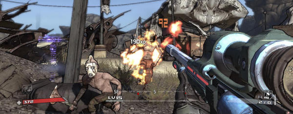 Borderlands from Gearbox is being sold through Steam.