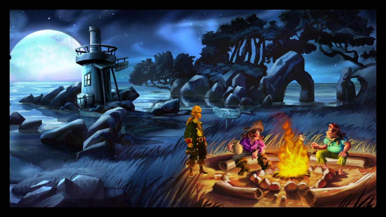 Monkey Island Special Edition Controls F