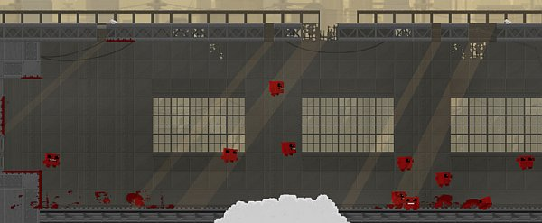 I am scared of Super Meat Boy