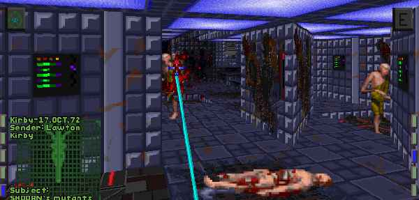 System Shock 2 AAAAH my CDs