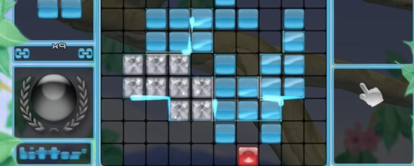 So the block is a block that disappears because of the block?