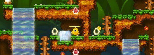 Oddly, Toki Tori reminds me of Walker. I mean that affectionately. No, really.