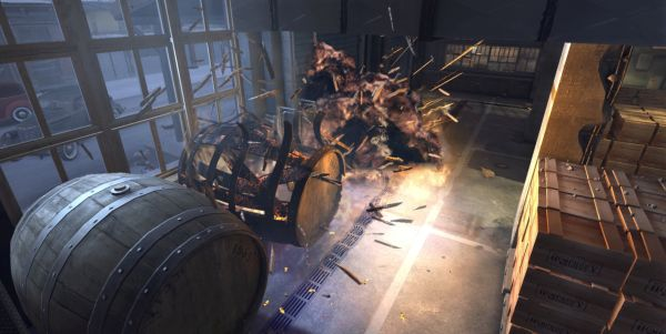 Well, they sent us a picture of some barrels, so we'll bloody well publish it to show them how stupid it looks.