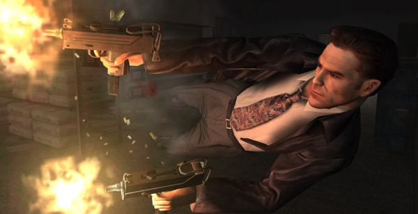 Say what you like about Max Payne. 7 years old, and the screenshots still look exciting. Go Max! Cause Payne!