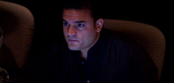 Jack Scalici in the recording studio.