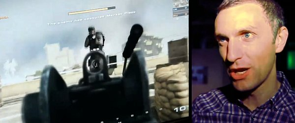 Coincidentally, that's the face I pull the entire time when playing an FPS game.