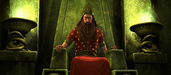 This isn't Genghis Khan, it's Nebuchadnezzar II. OBVIOUSLY.