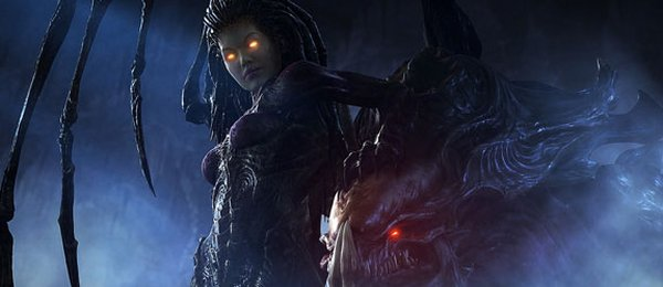 Kerrigan: third hottest of all spiky, chitinous aliens.