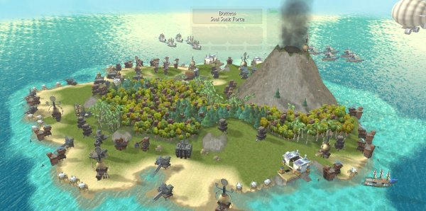 Islands are your bases, of course.