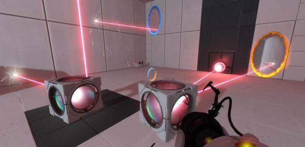Nonsense, taking place in Portal 2.