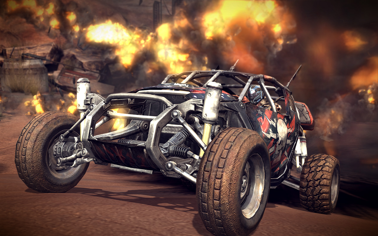 Cars & Co-Op: Rage Multiplayer Previewed | Rock Paper Shotgun