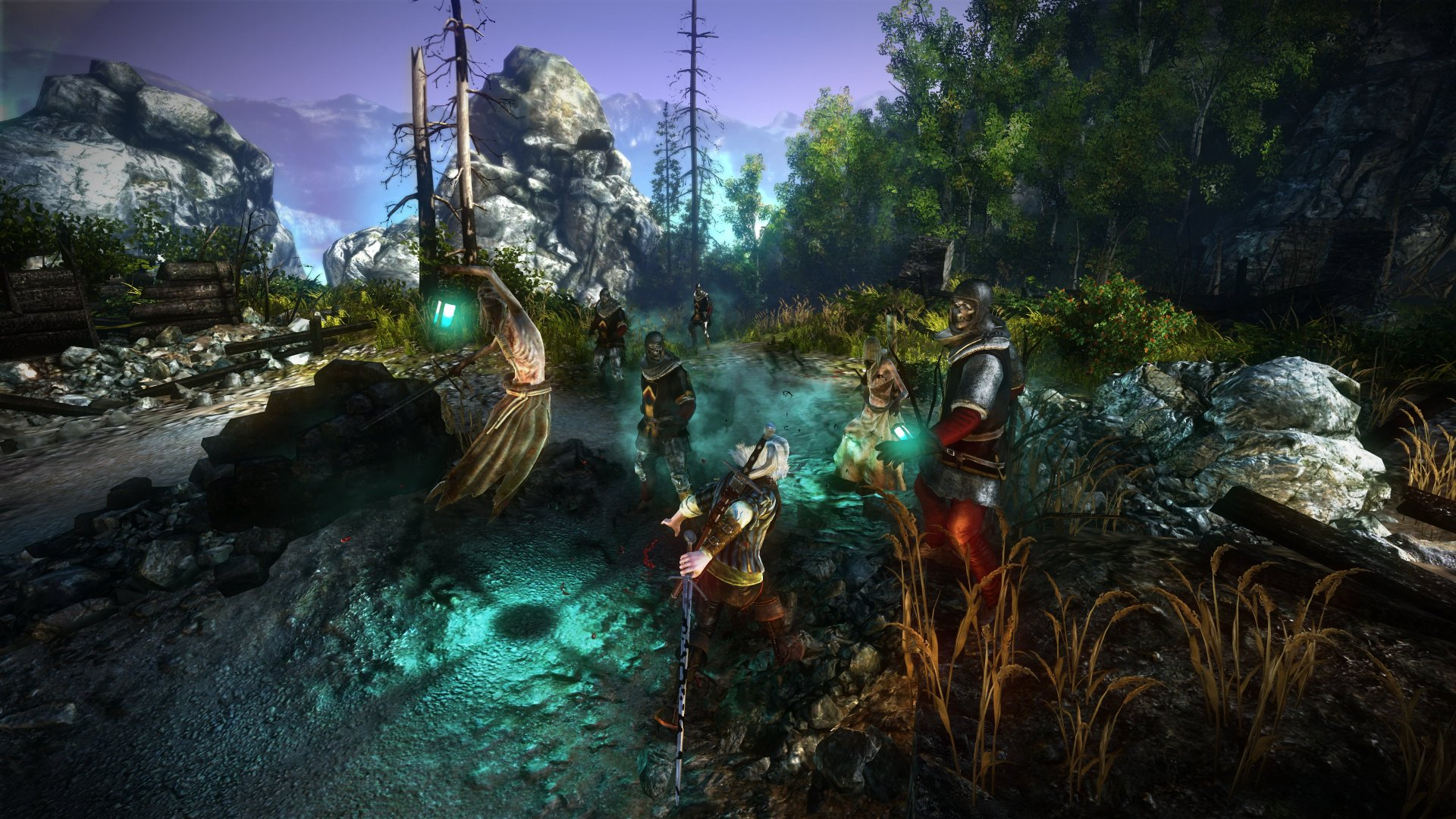 The Witcher 2 System Specs Fancy Screens Rock Paper