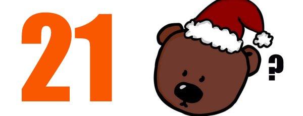 Twenty-one Christmas!